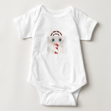 Professional Business Suitcase Man Babygro Baby Bodysuit