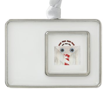 Professional Business Suitcase Man Framed Ornament