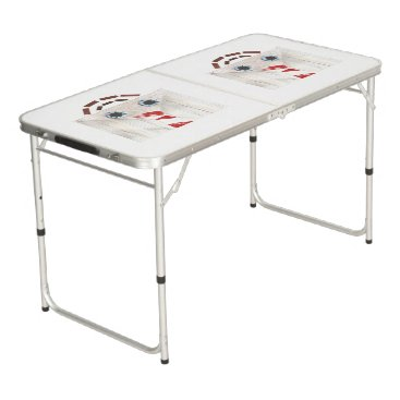 Professional Business Suitcase Man Ping Pong Table