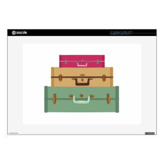Suitcases Decal For Laptop