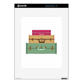 Suitcases Skin For The iPad