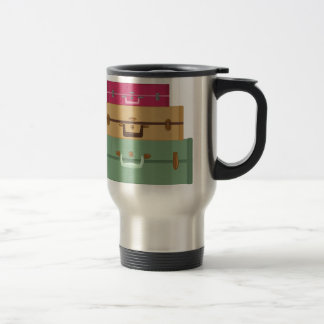 Suitcases Travel Mug
