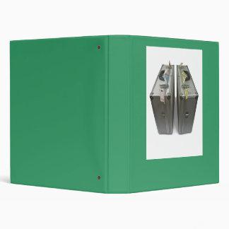 suitcases with money binder