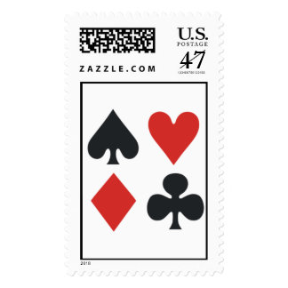 Suits of the Deck Postage