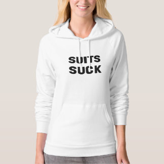 Suits Suck Hooded Pullover
