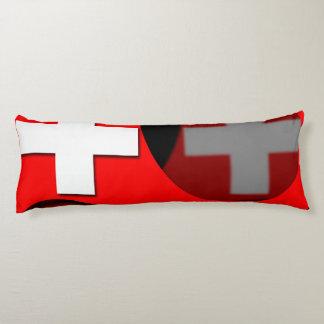 Suiza #1 almohada de cuerpo entero