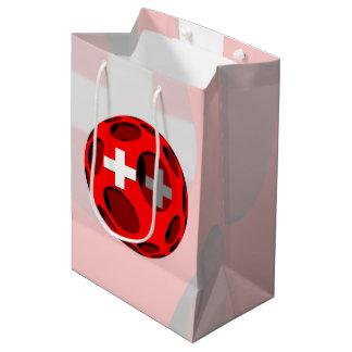 Suiza #1 bolsa de regalo mediana