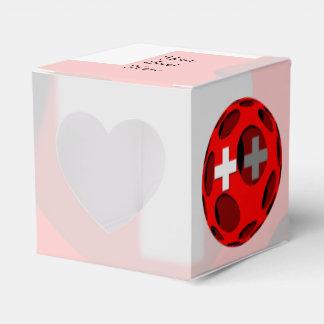 Suiza #1 caja para regalos de fiestas
