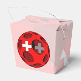 Suiza #1 cajas para regalos de fiestas