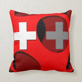 Suiza #1 cojín decorativo