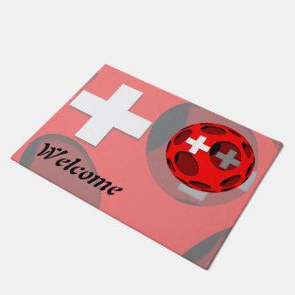 Suiza #1 felpudo