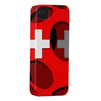 Suiza #1 iPhone 4 cárcasas