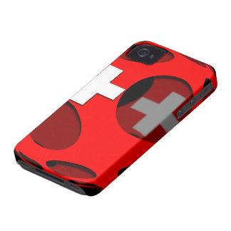 Suiza #1 Case-Mate iPhone 4 fundas