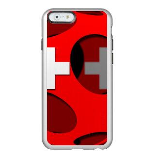 Suiza #1 funda para iPhone 6 plus incipio feather shine