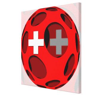Suiza #1 impresión en lienzo