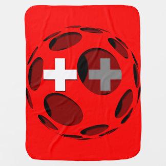 Suiza #1 mantas de bebé