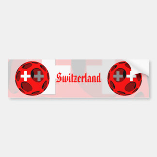 Suiza #1 pegatina para auto