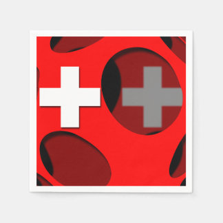 Suiza #1 servilletas desechables