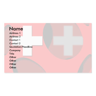 Suiza 1 plantillas de tarjeta de negocio