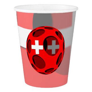 Suiza #1 vaso de papel