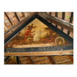 Suiza, Alfalfa, pinturas del puente de la capilla Tarjeta Postal