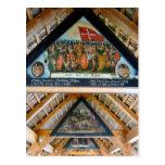 Suiza, Alfalfa, pinturas del puente de la capilla Tarjetas Postales