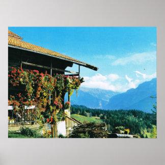 Suiza, Beatenberg, Thunnersee, Póster