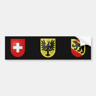 Suiza - Berna - Oberhasli Pegatina De Parachoque