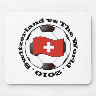 Suiza contra el mundo tapete de ratón