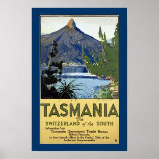 Suiza de Tasmania del sur Impresiones