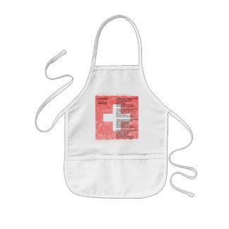 Suiza Delantal Infantil