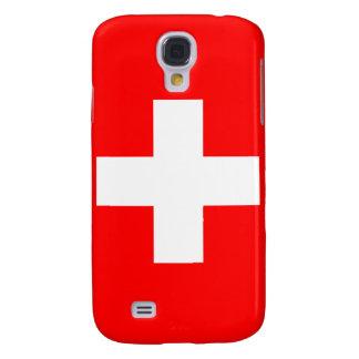 Suiza encima del caso del iPhone 3 Funda Para Galaxy S4