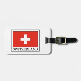 Suiza Etiquetas Para Maletas