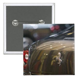 SUIZA, GINEBRA: 75.o Auto anual 3 de Ginebra Pin Cuadrado