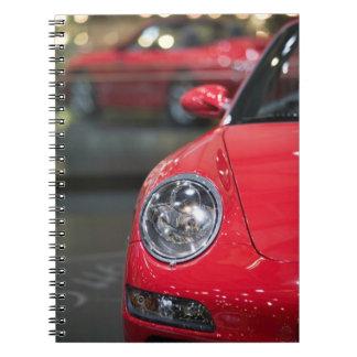 SUIZA, GINEBRA: 75.o Auto anual 8 de Ginebra Libro De Apuntes Con Espiral