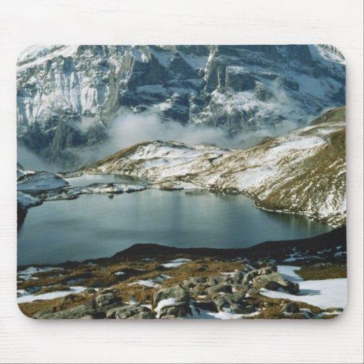 Suiza, Grindelwald, montañas de Bernese, visión Alfombrilla De Raton