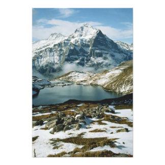 Suiza, Grindelwald, montañas de Bernese, visión Arte Con Fotos