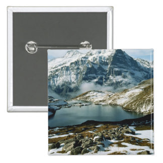 Suiza, Grindelwald, montañas de Bernese, visión Pin Cuadrado