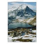 Suiza, Grindelwald, montañas de Bernese, visión Tarjeta