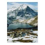Suiza, Grindelwald, montañas de Bernese, visión Tarjeta Postal