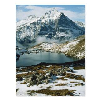 Suiza, Grindelwald, montañas de Bernese, visión Tarjetas Postales