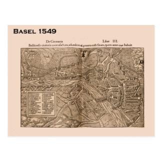Suiza histórica Basilea 1549