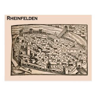 Suiza histórica Rheinfelden 1549