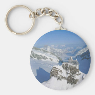 Suiza, Jungfraujoch, top de Europa Llaveros Personalizados