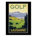 Suiza Lausanne Tarjeta Postal