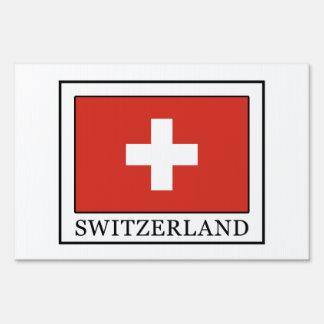Suiza Letrero