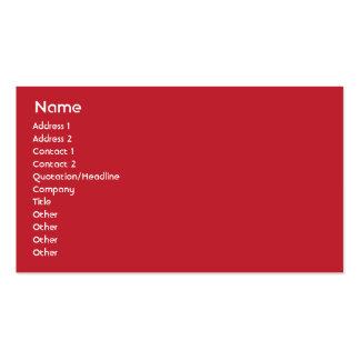 Suiza - negocio plantillas de tarjetas personales