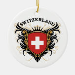 Suiza Ornaments Para Arbol De Navidad
