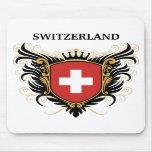 Suiza [personalice] alfombrillas de raton