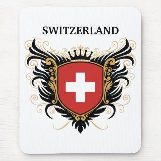 Suiza [personalice] tapetes de ratones